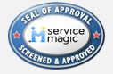 Service Magic Screen & Approved Service Professional seal